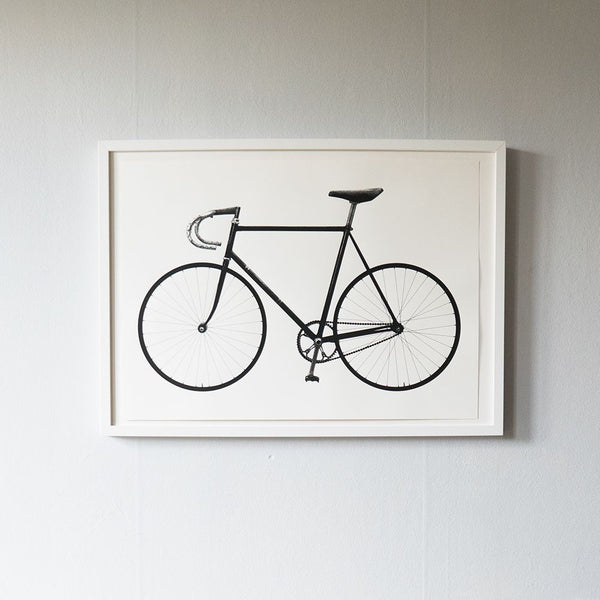 Screenprint Ride (bike) 32 x 46 cm
