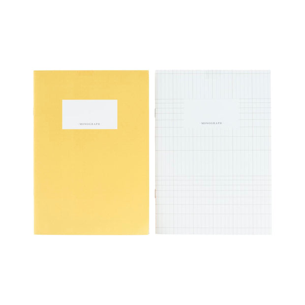 Note book Linies Angora / Yellow, Set of 2