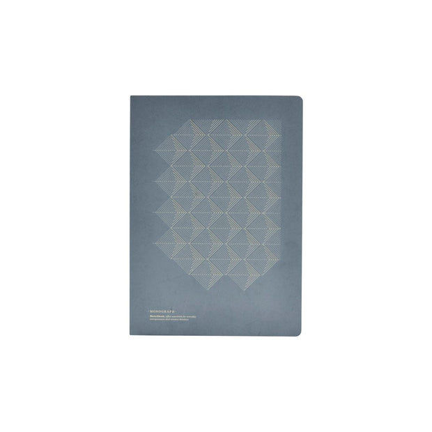 Notebook Print Blank in Blue