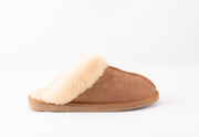 Sheepskin Slippers - Jessica in Chestnut size 39 - UK 5/6