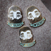 Bahkadisch pin -  I love beard - Blabar