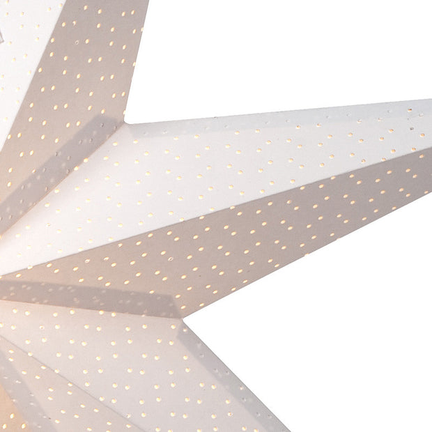 Aino Slim Christmas Star White 80cm - Blabar