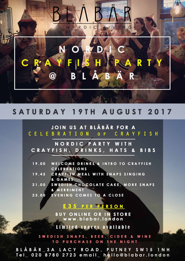 19th August 2017 Crayfish Party at Blåbär - Blabar