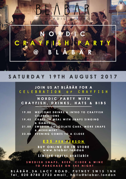 19th August 2017 Crayfish Party at Blåbär