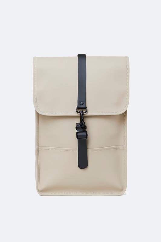 Rains Backback Mini Bag in Beige - Blabar