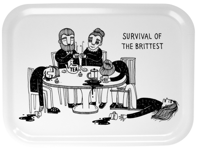 Tray -  Survival of the brittest - Blabar