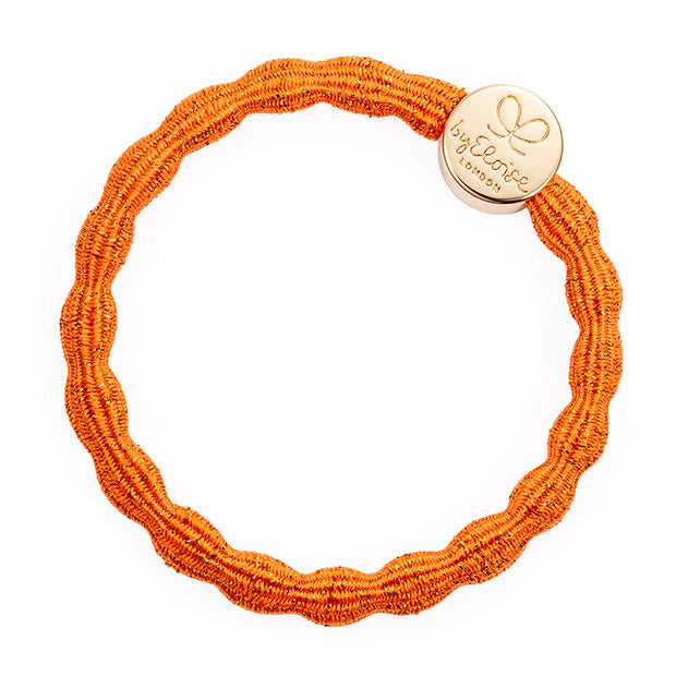 Bangle Band Metallic Gold Circle | Orange Peel