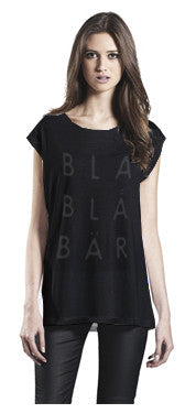 T-shirt Sleeveless BLABLÅBÄR, Womens Black