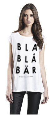T-shirt Sleeveless BLABLÅBÄR, Womens White