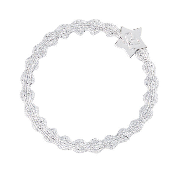 Bangle Band Metallic Silver Star · Glittery Silver - Blabar
