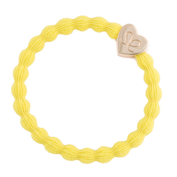Bangle Band Gold Heart · sunshine yellow - Blabar