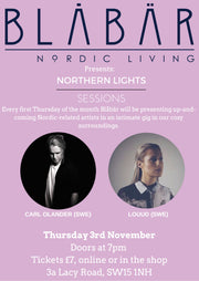 3rd November Northern Lights Sessions @ Blåbär - Blabar