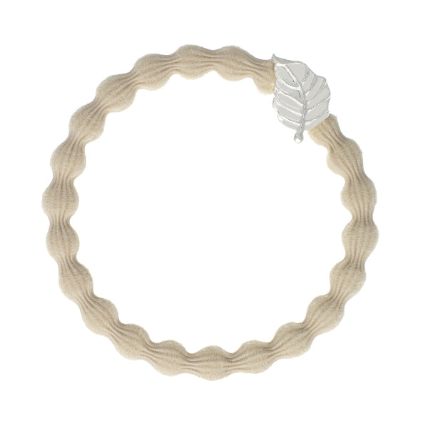 Bangle Band silver leaf · sand - Blabar