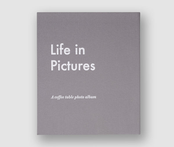 Photo Album, Life In Pictures, Grey