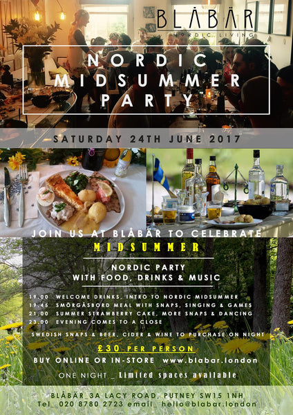 24th June 2017 Midsummer Party at Blåbär