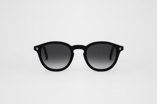 Nelson Black Unisex Sunglasses