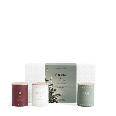 Scented Candle Önska Mini Gift Pack - Blabar