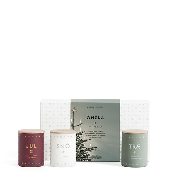 Scented Candle Önska Mini Gift Pack