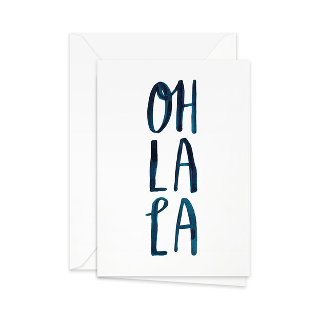 Pretty Paper Greeting Card Oh La La