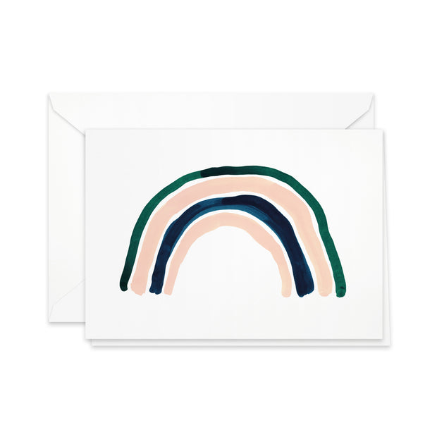Pretty Paper Greeting Card Rainbow
