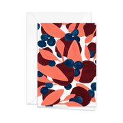 Pretty Paper Greeting Card Berries