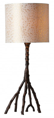 Woody Table Lamp in Bronze