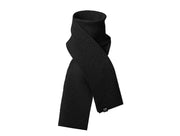Pleece Scarf Long in Black - Blabar