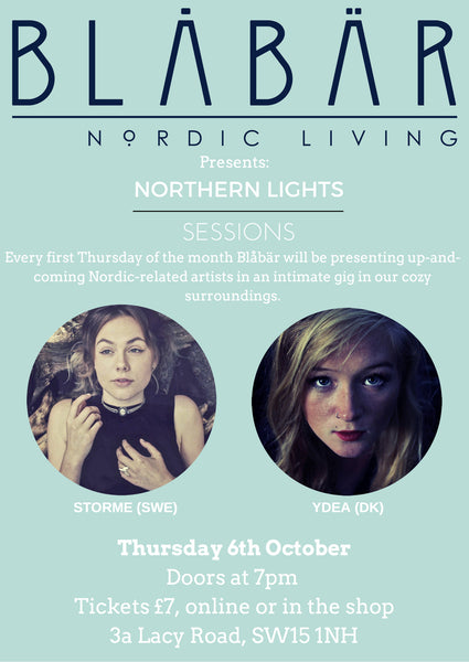6th October Northern Lights Sessions @ Blåbär
