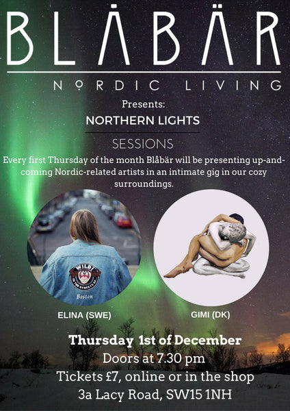 1ST DECEMBER NORTHERN LIGHTS SESSIONS @ BLÅBÄR