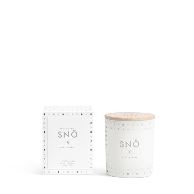 Scented Candle Snö - Snow