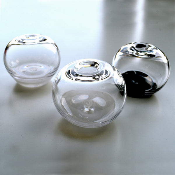 Handblown Glass Salt / Pepper Pot