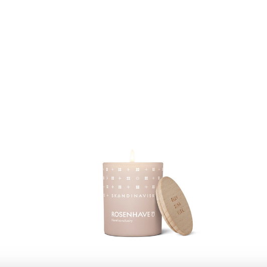 Scented Candle Rosenhave 20h
