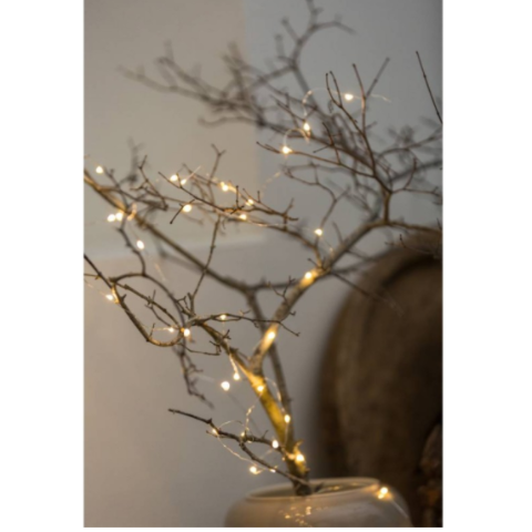 Micro String Lights 7.5m Copper - Blabar