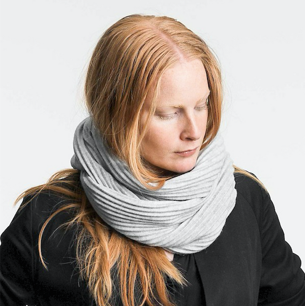 Pleece Snood in Light Grey - Blabar