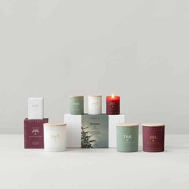 Scented Candle Snö - Snow - Blabar