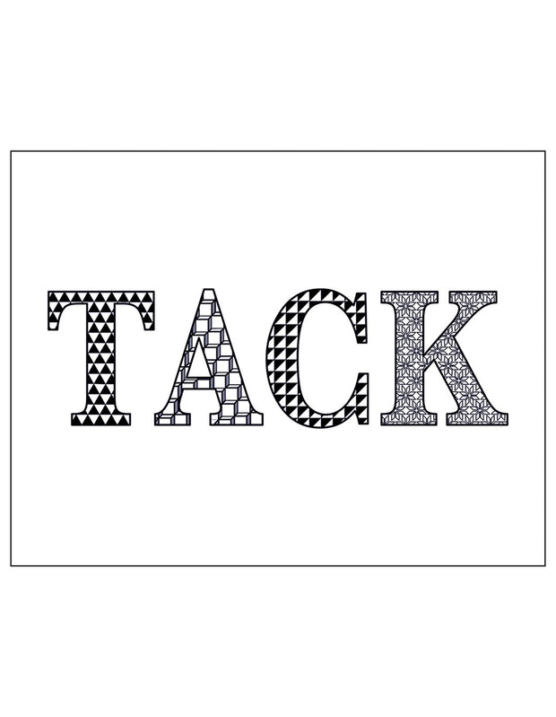 Greeting Card_Tack - Blabar
