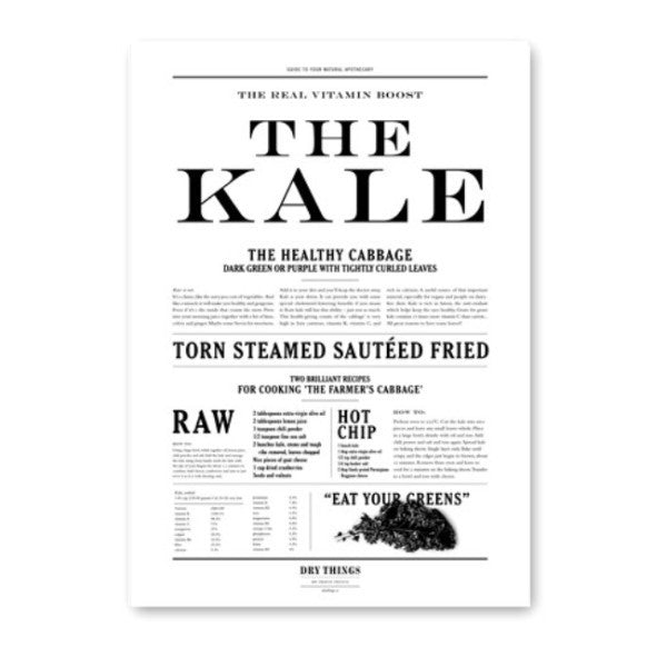 Poster _ The Kale - Blabar