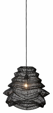 Vilda Black Ceiling Lamp - Paper
