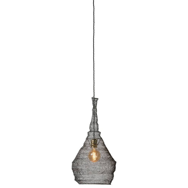 Alex Lampshade Small in Iron, Black - Blabar