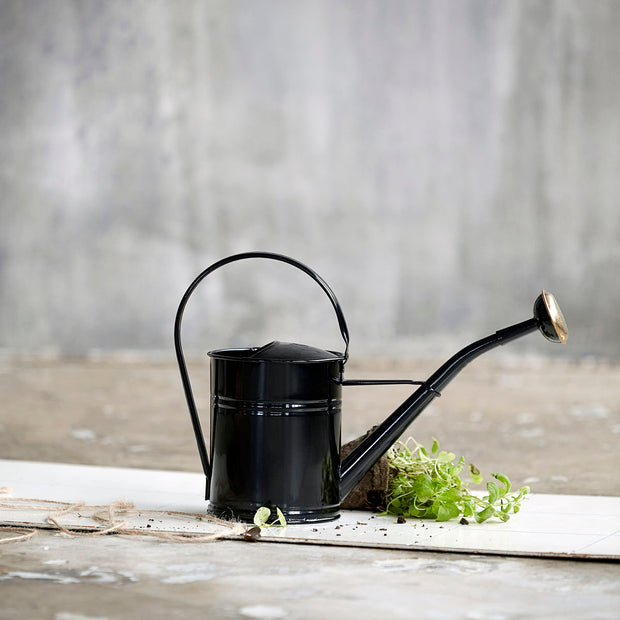 Watering Can in Black