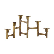 Candlestand Move w. 6 cups in Brass - Blabar