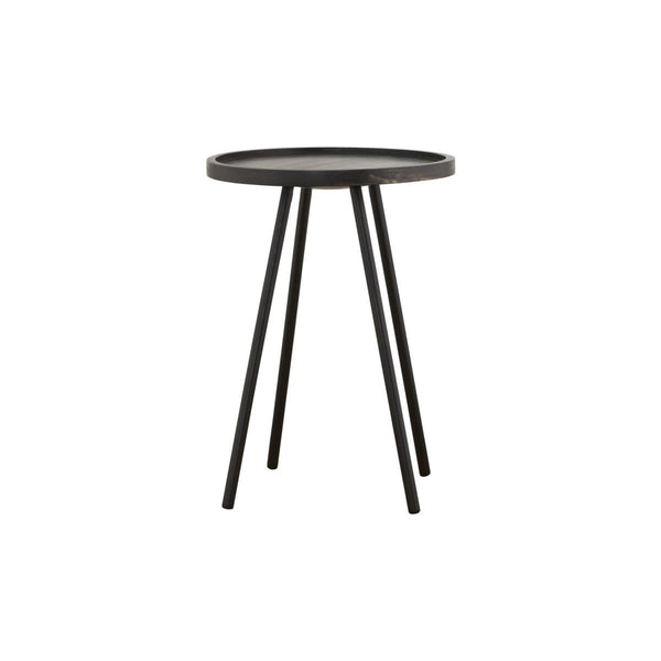 Juco Coffee Side Table, Black 60 X 45CM - Blabar