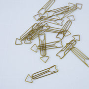 Monograph Paper Clip Arrow Gold - Blabar