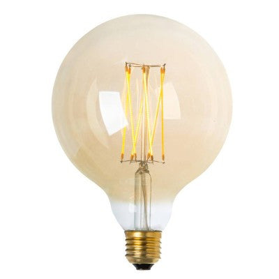LED lightbulb globe gold 125 E27 4W