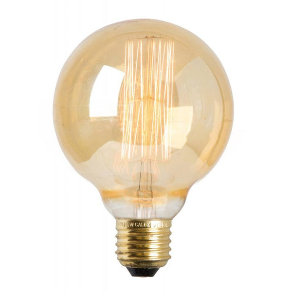 Lightbulb Globe Gold 8cm
