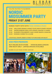 21st June 2019 Midsummer Party at Blåbär - Blabar