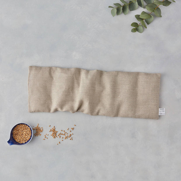 Linen Wheat Bag - Large in Natural Plain - Blabar