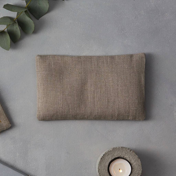 Linen Wheat Bag - Eye Pillow Natural Plain - Blabar