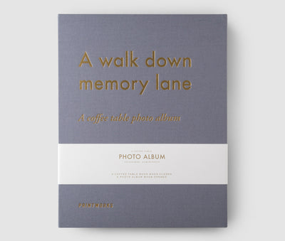 Photo Album, A Walk Down Memory Lane - Grey