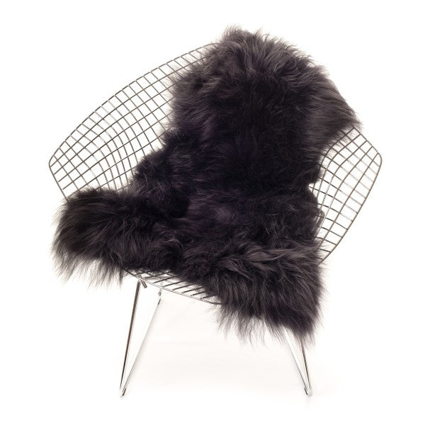 Sheepskin Icelandic - Longhaired in Graphite - Blabar